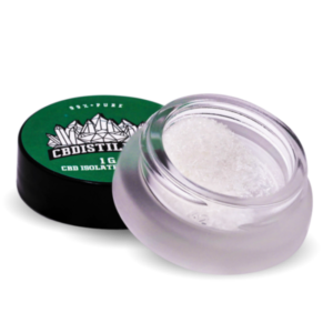 99+% Pure CBD Isolate Powder from Hemp