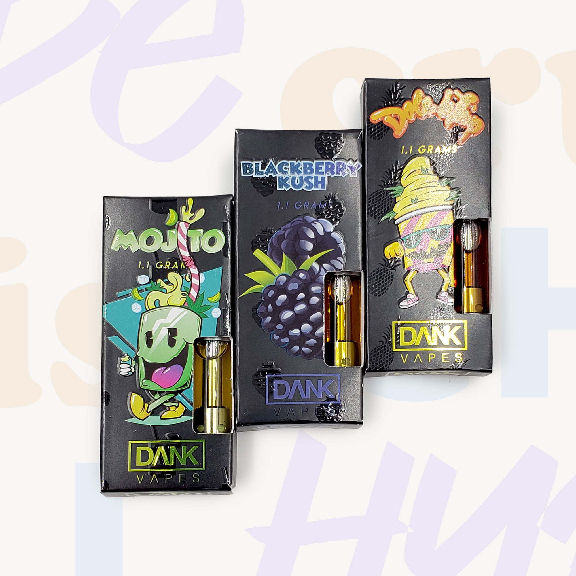 Dank Vapes FULL GRAM Cartridges