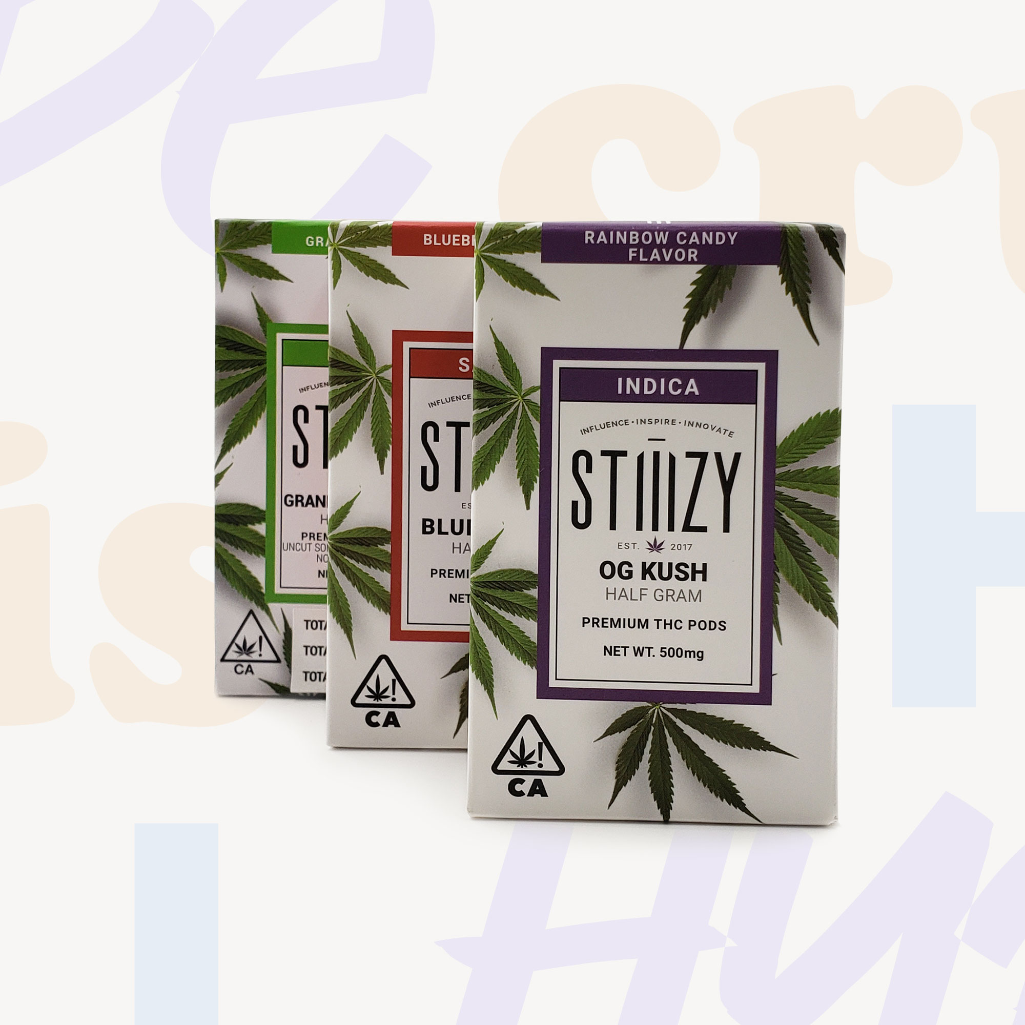 Stiiizy HALF GRAM Magnetic Cartridges